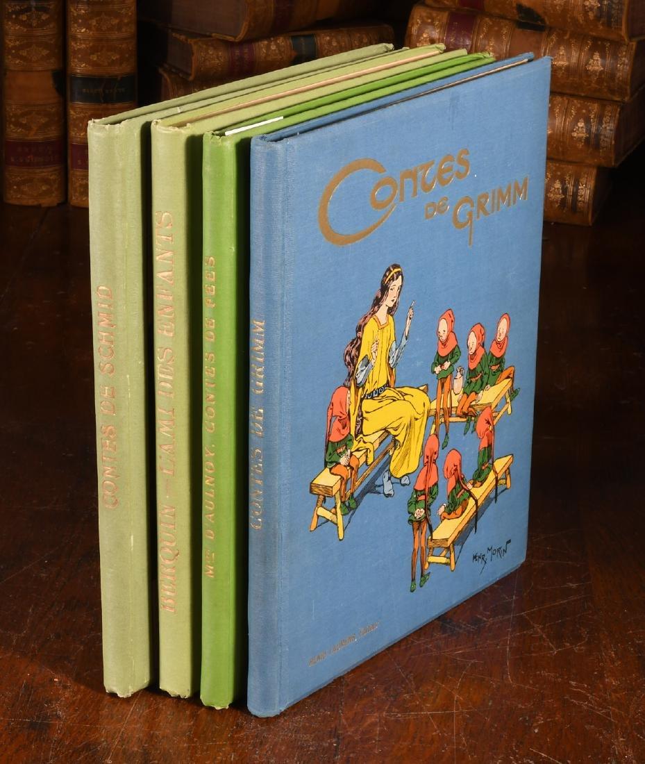BOOKS: (4) Vols Illustrated French Children's