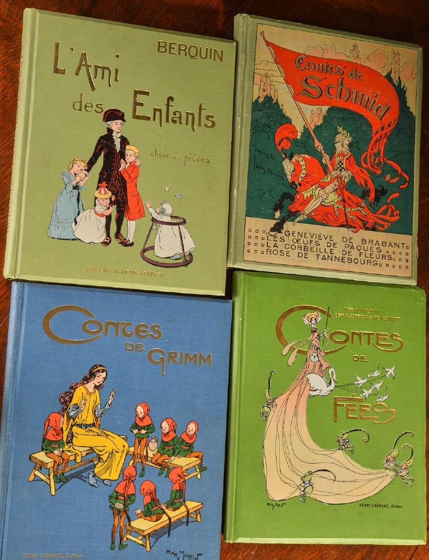 BOOKS: (4) Vols Illustrated French Children's - 3