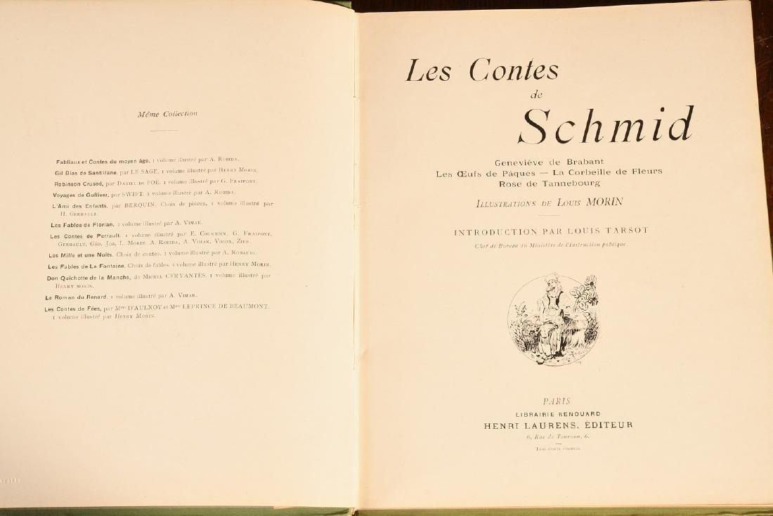 BOOKS: (4) Vols Illustrated French Children's - 4