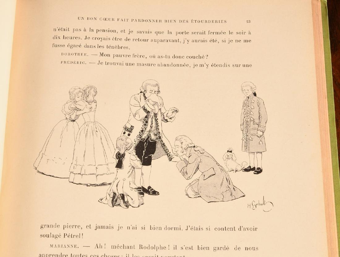 BOOKS: (4) Vols Illustrated French Children's - 7