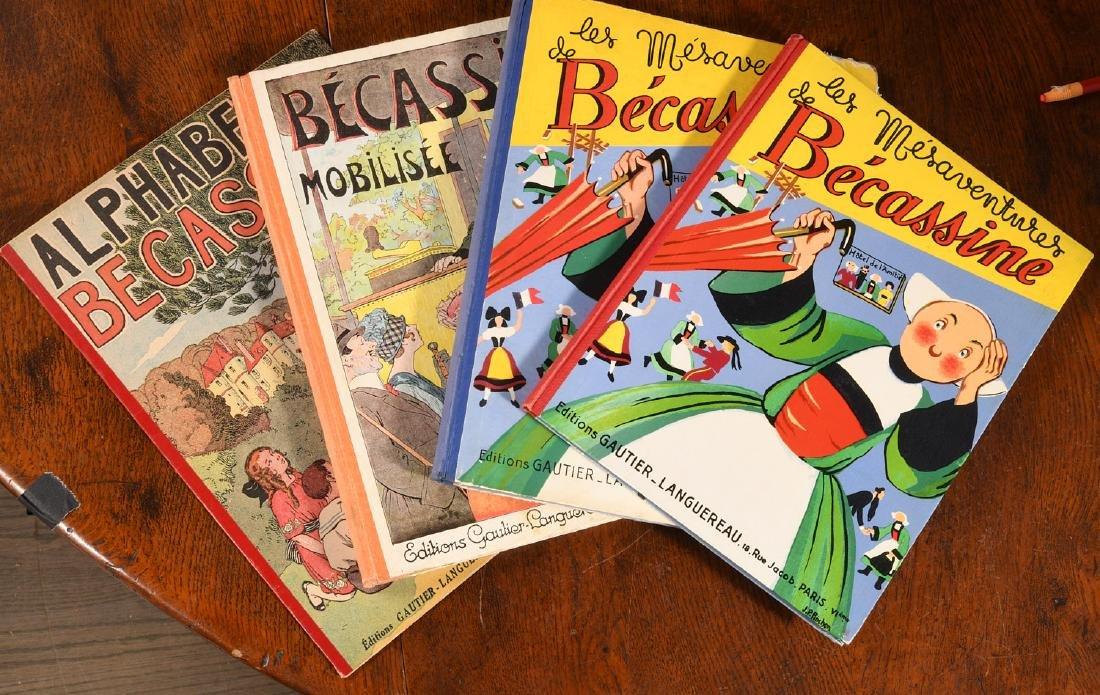 BOOKS: (4) Vols Becassine Children's Books