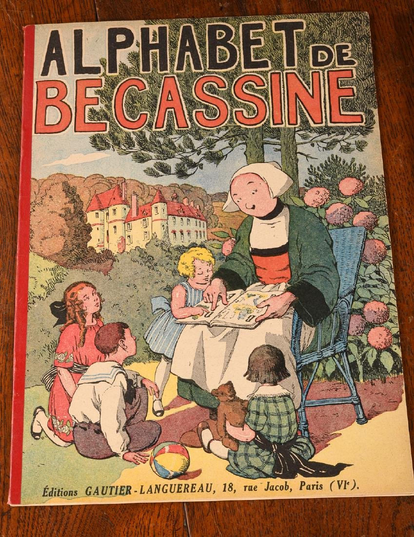 BOOKS: (4) Vols Becassine Children's Books - 3