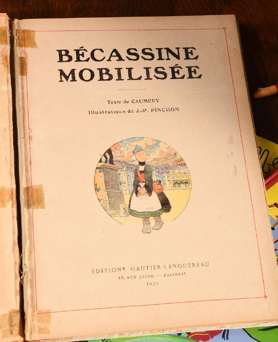 BOOKS: (4) Vols Becassine Children's Books - 4