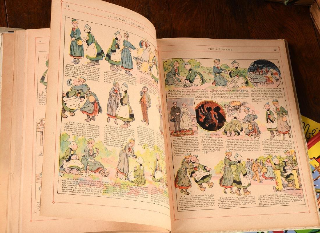 BOOKS: (4) Vols Becassine Children's Books - 6