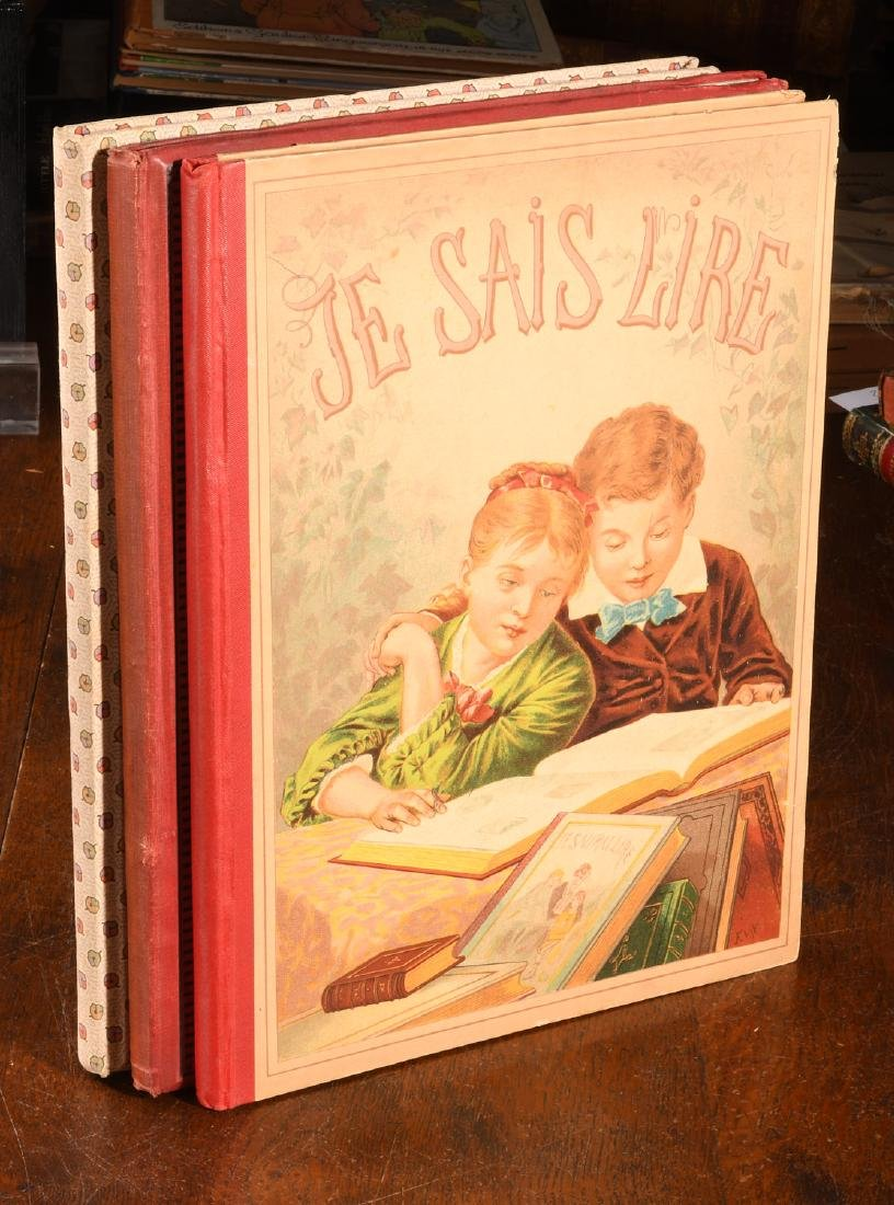 BOOKS: (3) Vols Illustrated French Childrens c1900