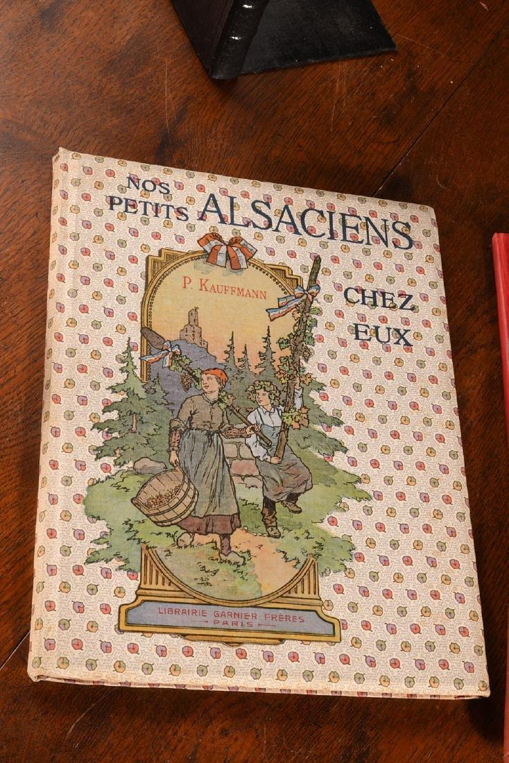 BOOKS: (3) Vols Illustrated French Childrens c1900 - 2