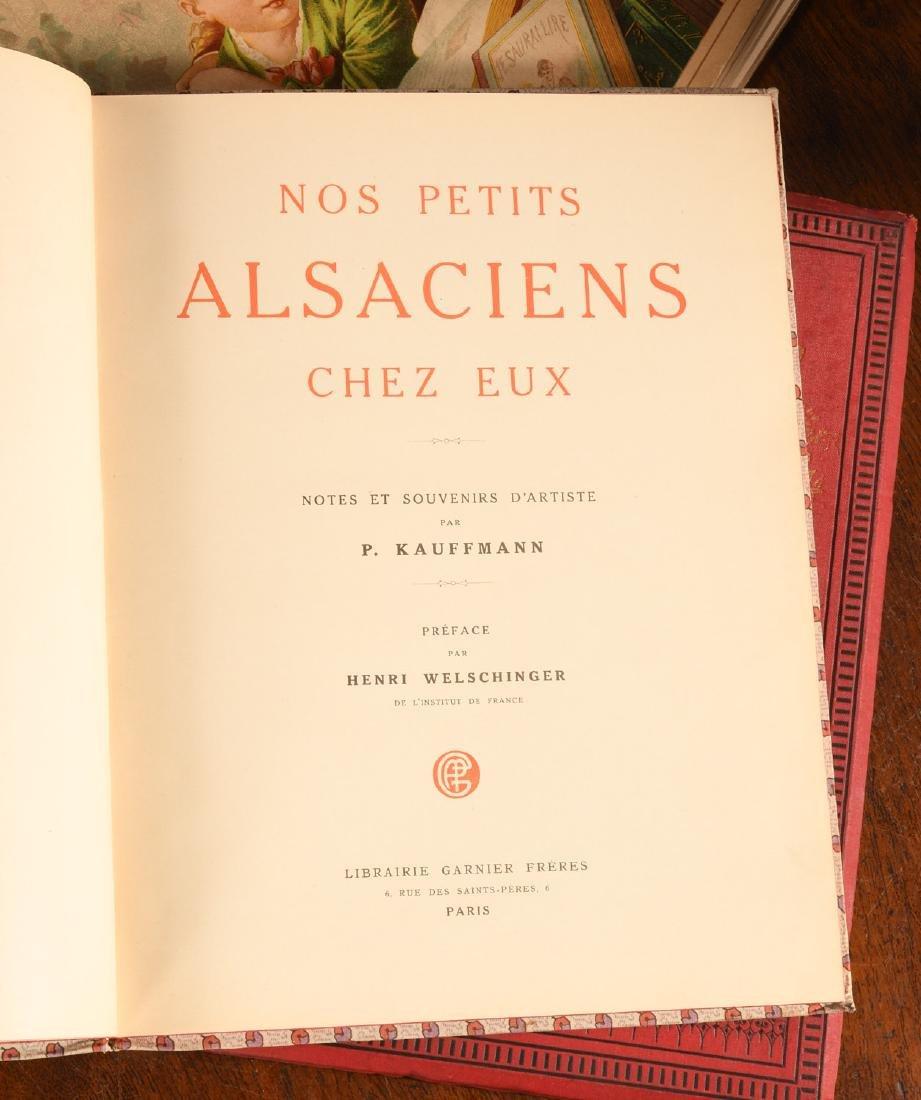 BOOKS: (3) Vols Illustrated French Childrens c1900 - 4
