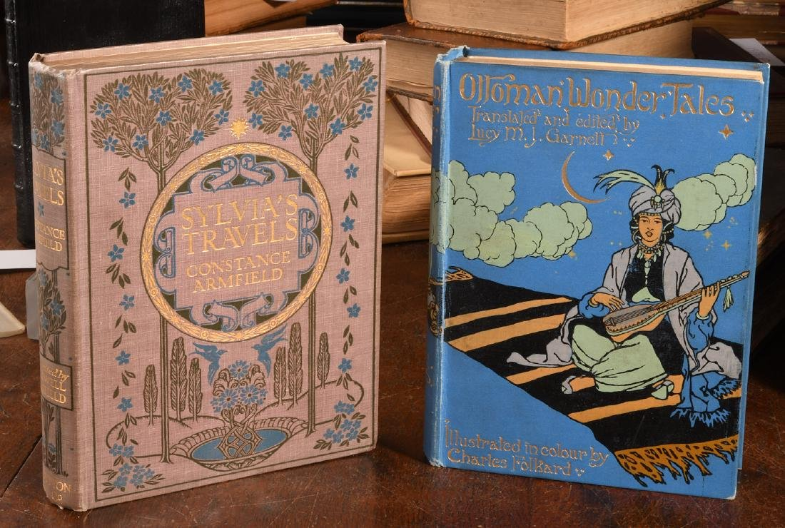 BOOKS: (2) Ottoman Wonder Tales + Sylvia's Travels
