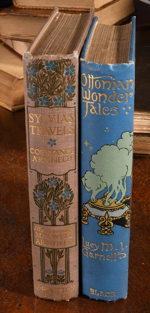 BOOKS: (2) Ottoman Wonder Tales + Sylvia's Travels - 2