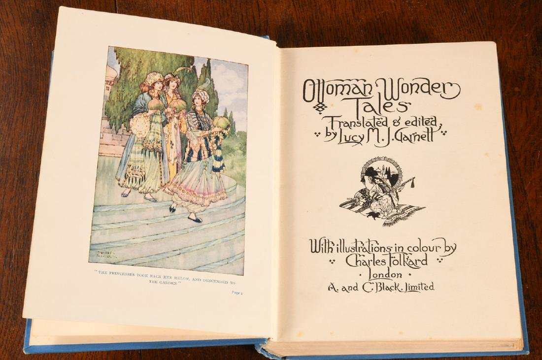 BOOKS: (2) Ottoman Wonder Tales + Sylvia's Travels - 3