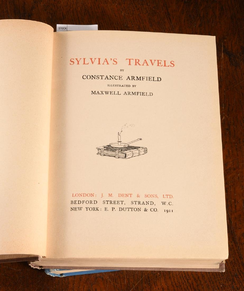 BOOKS: (2) Ottoman Wonder Tales + Sylvia's Travels - 5