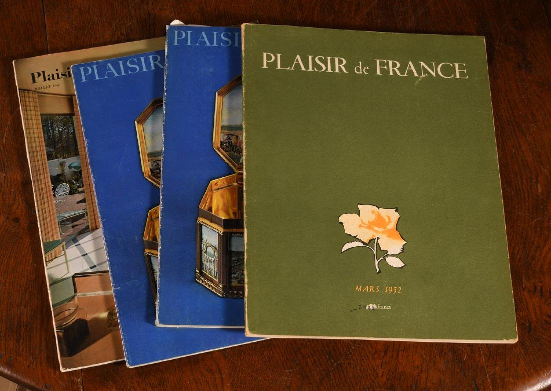 MAGAZINES: (44) Issues PLAISIR DE FRANCE 1935-52 - 3