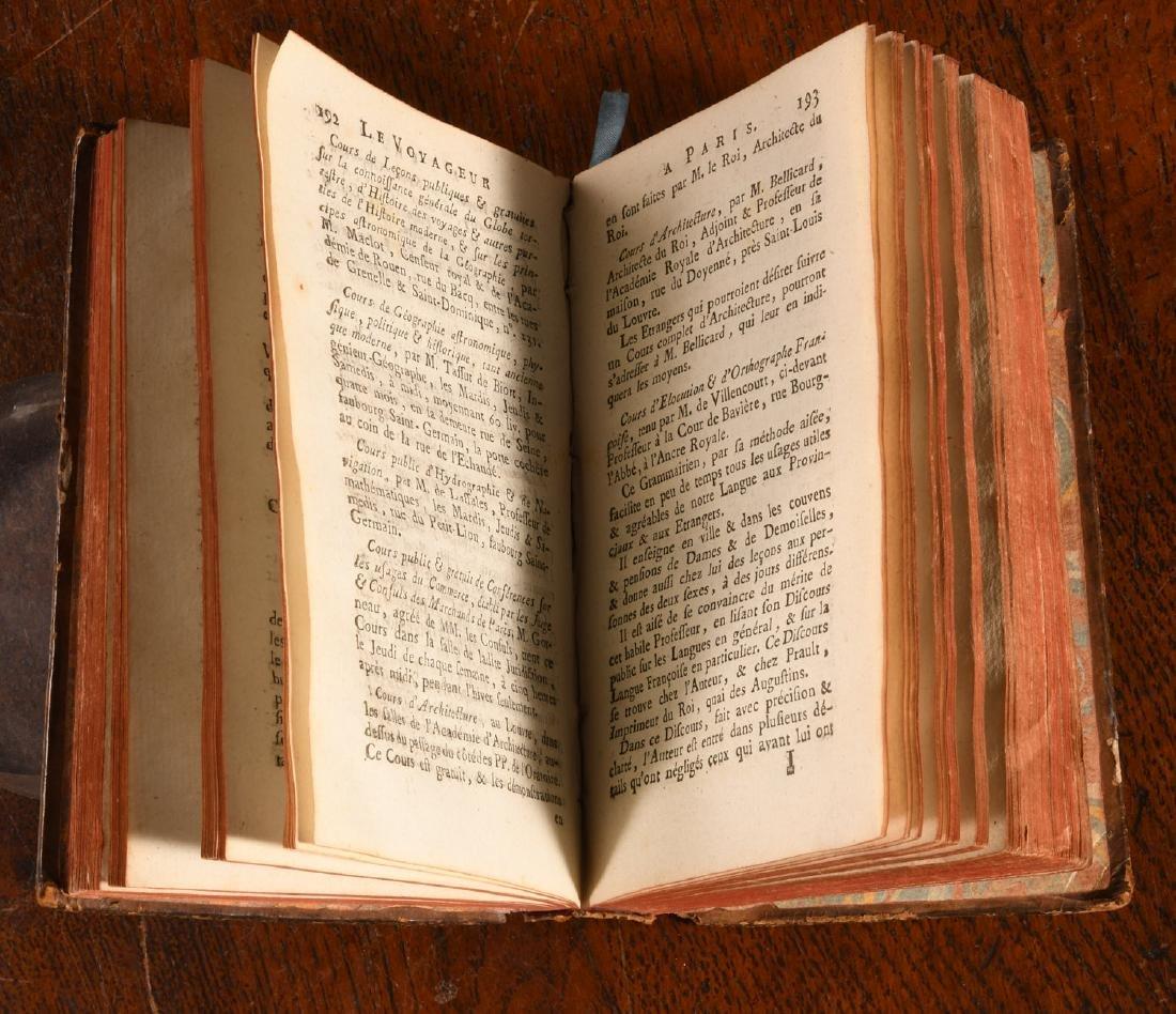 BOOKS: Thiery 1785 Almanach du Voyageur a Paris - 4