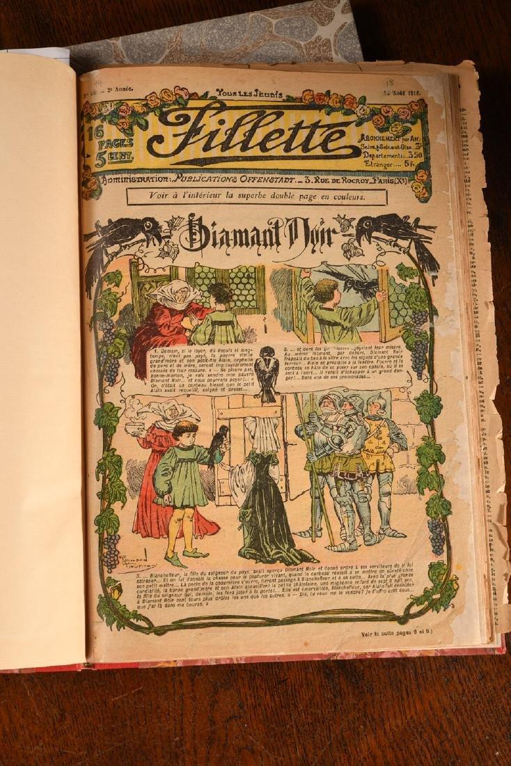 MAGAZINES: French Little Girl FILLETTE 1910-1911 - 3