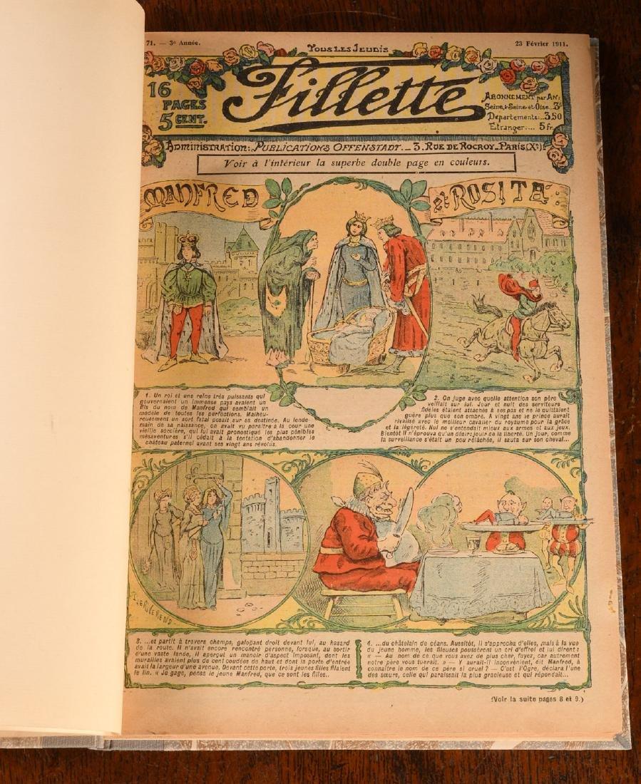 MAGAZINES: French Little Girl FILLETTE 1910-1911 - 5