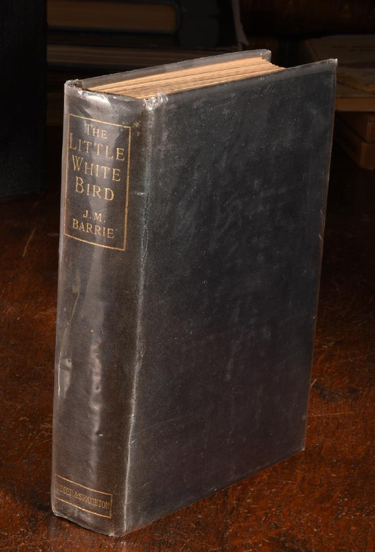 BOOKS: Barrie 1902 Little White Bird 1st PETER PAN