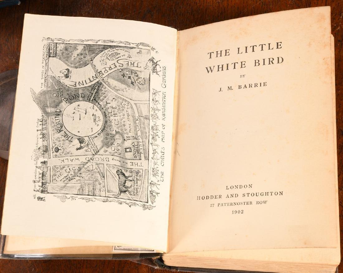 BOOKS: Barrie 1902 Little White Bird 1st PETER PAN - 4