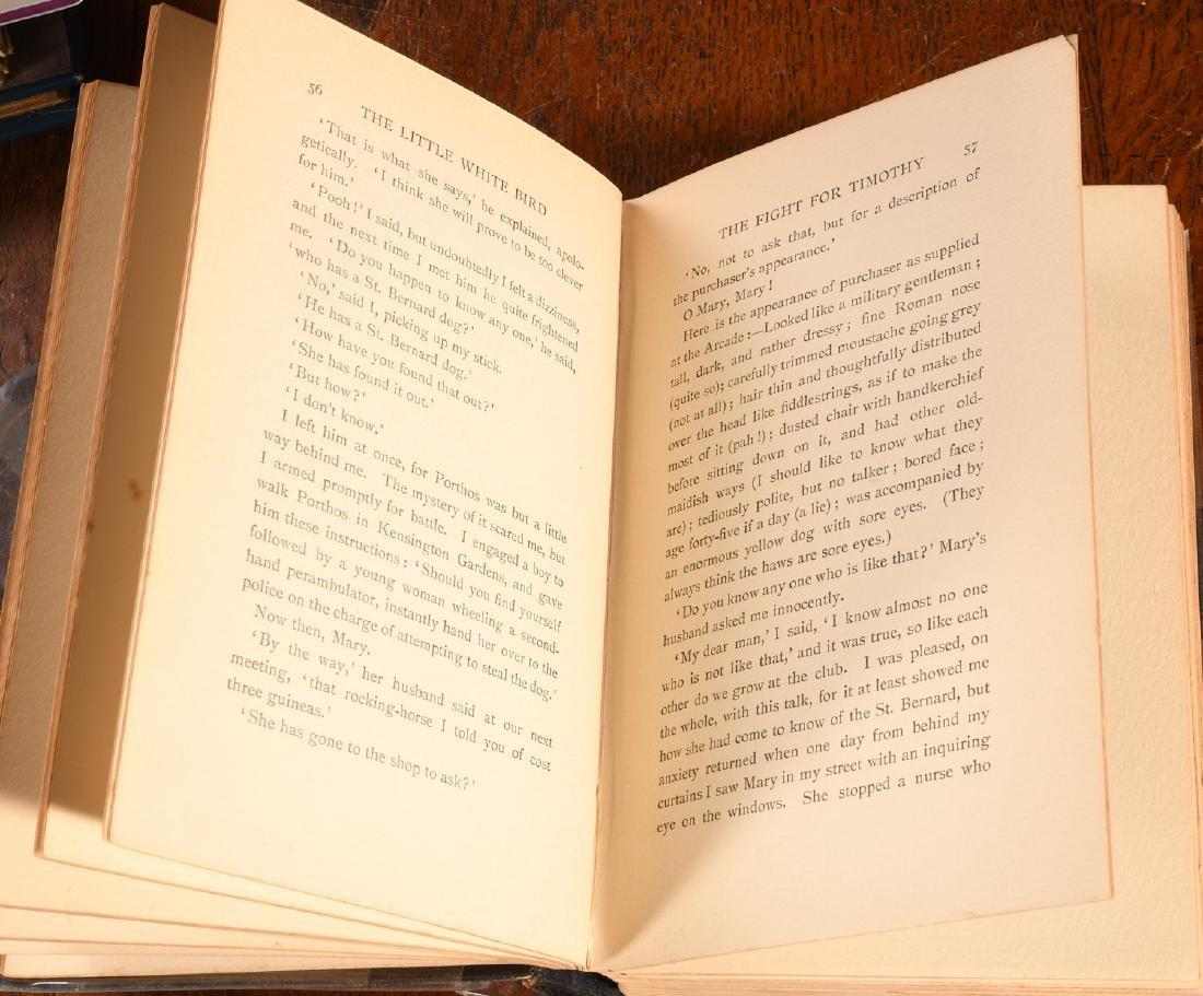 BOOKS: Barrie 1902 Little White Bird 1st PETER PAN - 5