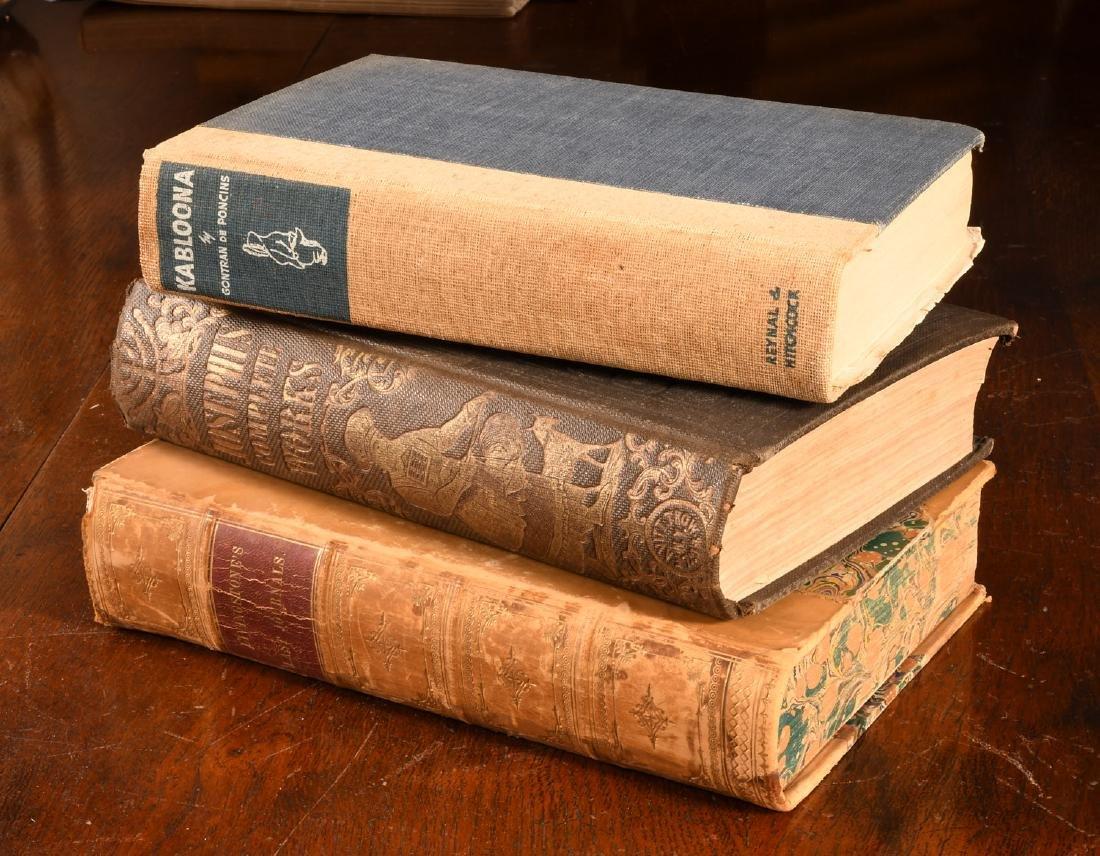 BOOKS: (3) Vols History & Exploration Livingstone