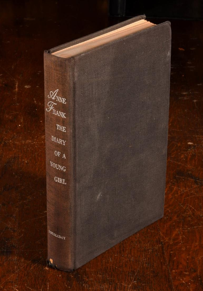BOOKS: Anne Frank 1952 Stated First Edition