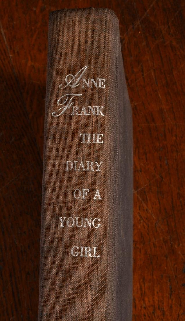 BOOKS: Anne Frank 1952 Stated First Edition - 2