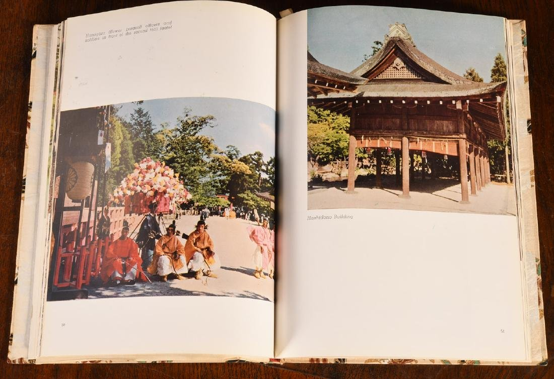 BOOKS: (9) Vols Japanese Art Architecture Kyoto - 7