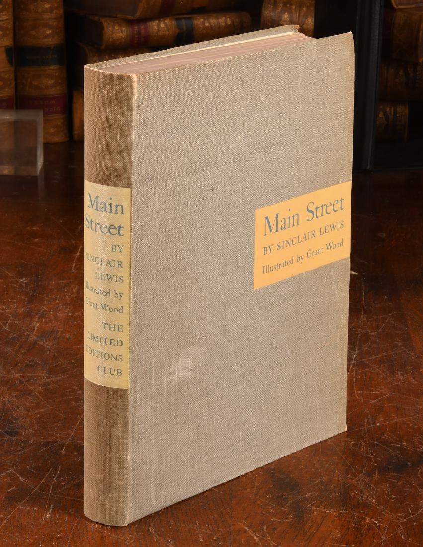 BOOKS: Grant Wood SIGNED Main Street Ltd Eds Club