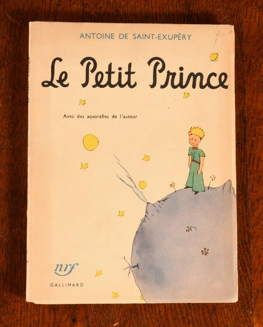 BOOKS: Le Petit Prince 1950 Gallimard Dupont