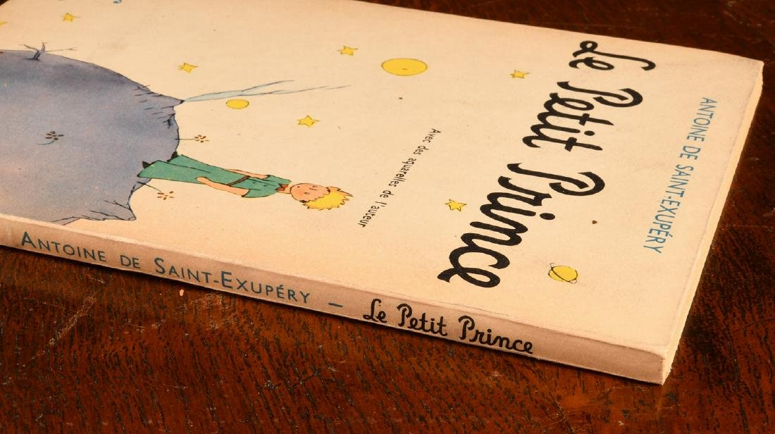 BOOKS: Le Petit Prince 1950 Gallimard Dupont - 2