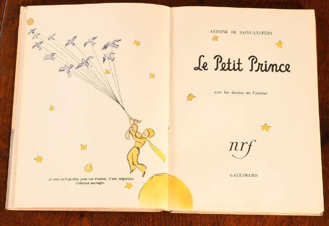 BOOKS: Le Petit Prince 1950 Gallimard Dupont - 3
