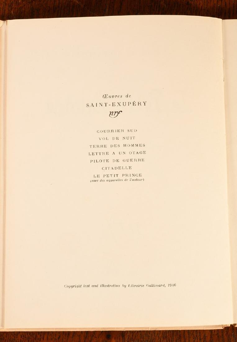 BOOKS: Le Petit Prince 1950 Gallimard Dupont - 4