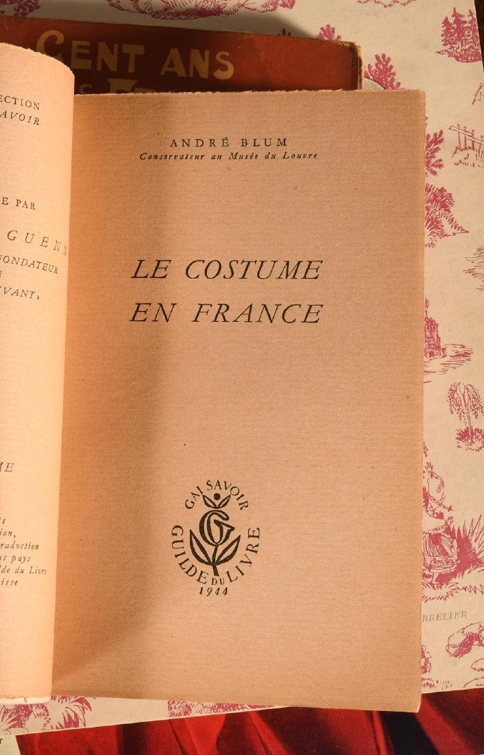BOOKS: (7) Vols Vintage French Fashion History - 3