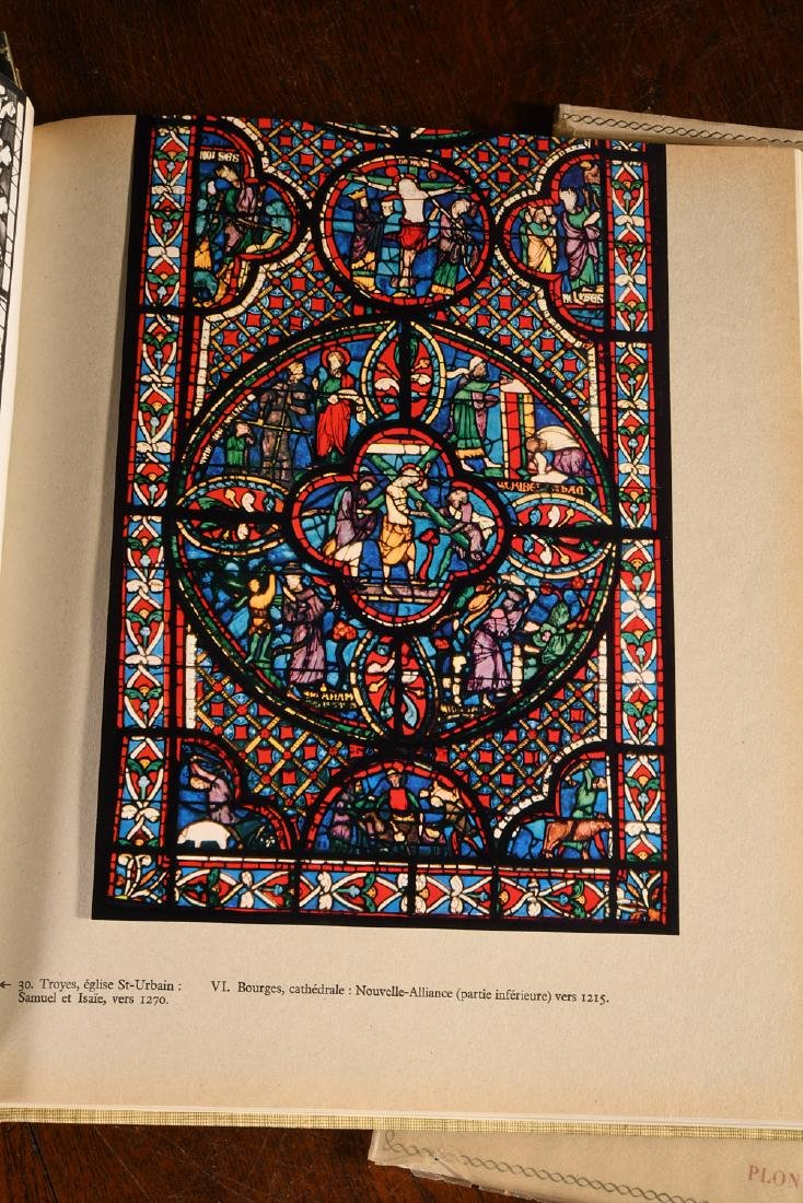 BOOKS: 3 Vols French Stained Glass Windows - 4