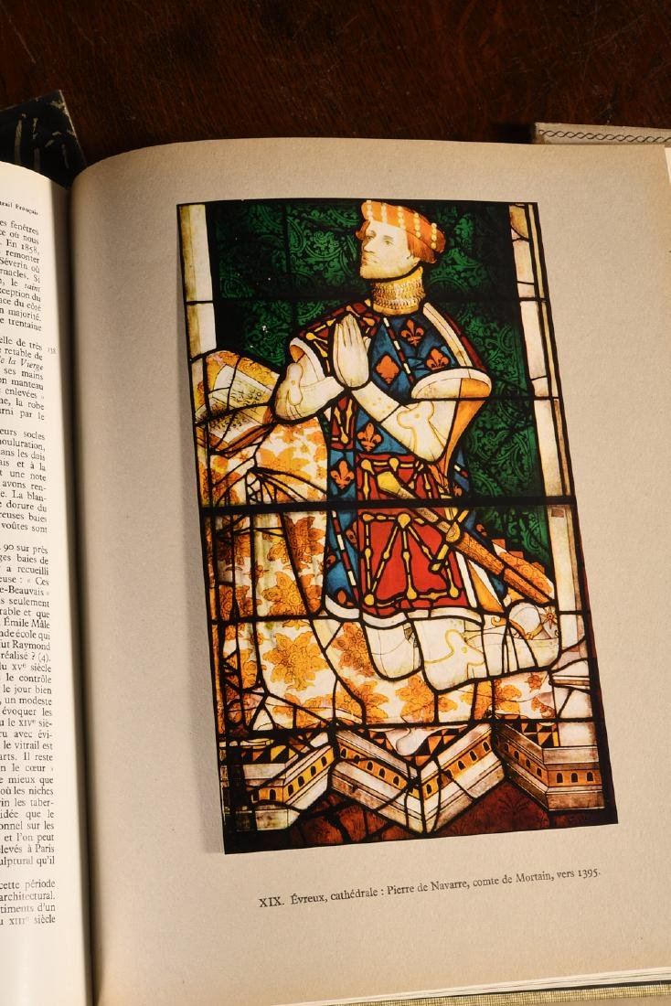 BOOKS: 3 Vols French Stained Glass Windows - 5