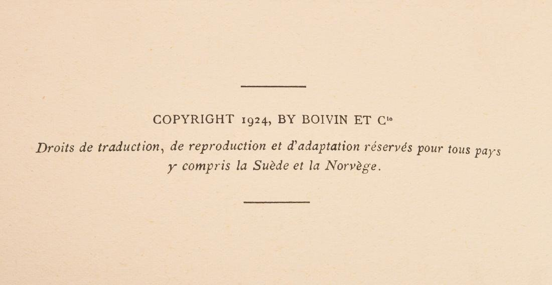 BOOKS: (2) Vols '20s French Illustrated Children's - 6