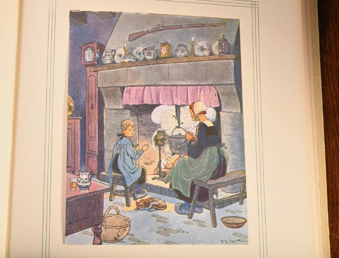 BOOKS: (2) Vols '20s French Illustrated Children's - 7