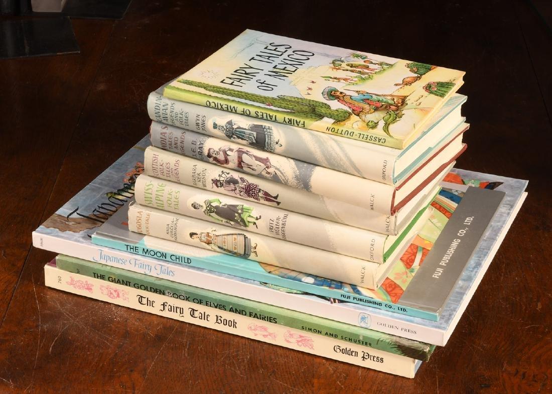 BOOKS: (10) Vols Children's Legends Folktales