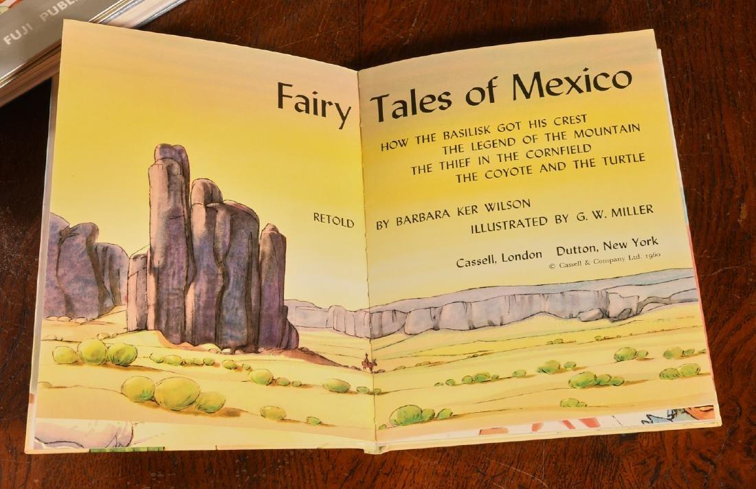 BOOKS: (10) Vols Children's Legends Folktales - 2
