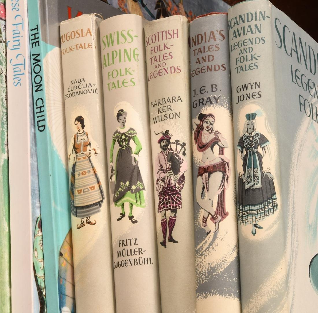 BOOKS: (10) Vols Children's Legends Folktales - 3