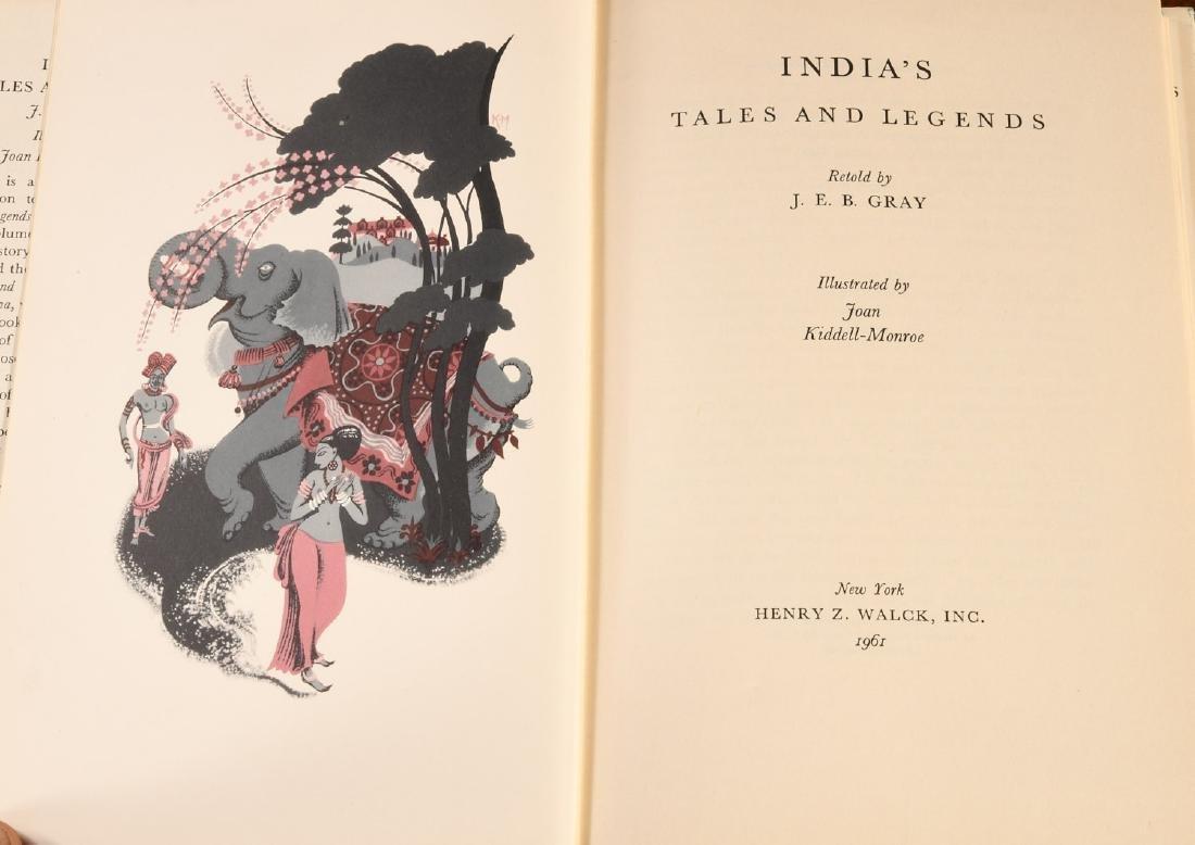 BOOKS: (10) Vols Children's Legends Folktales - 9