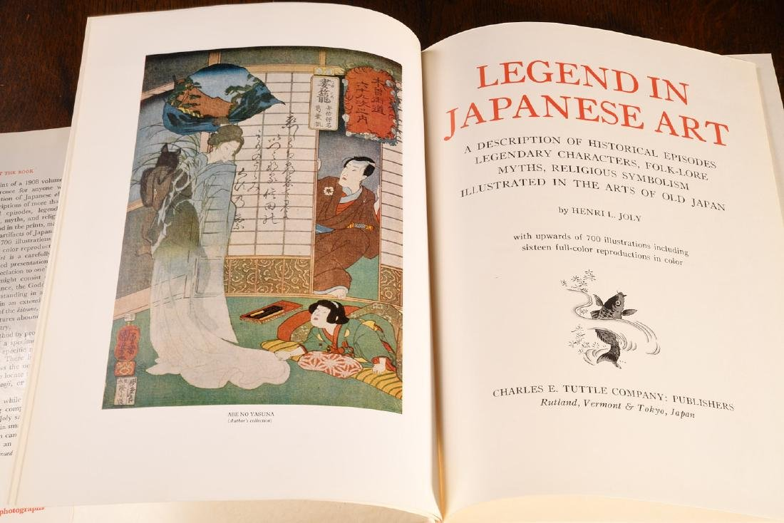 BOOKS: Joly 1968 Legend in Japanese Art HC Jacket - 2