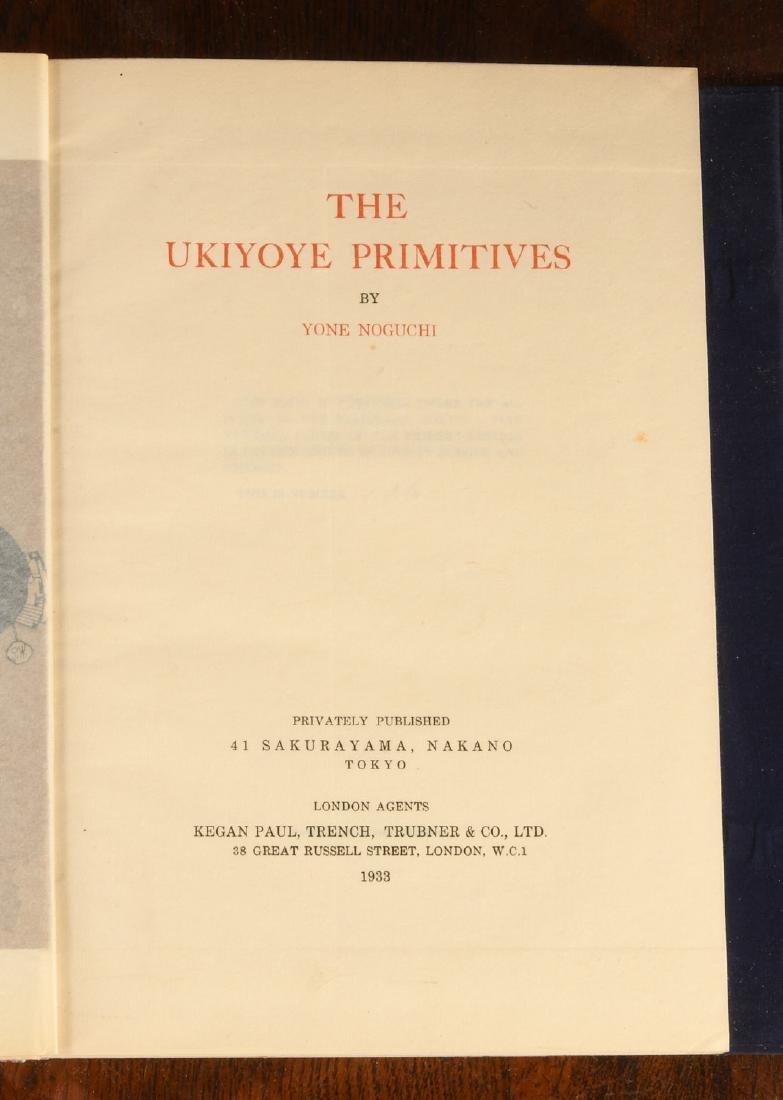 BOOKS: Noguchi 1933 The Ukiyoye Primitives Ltd Ed - 4