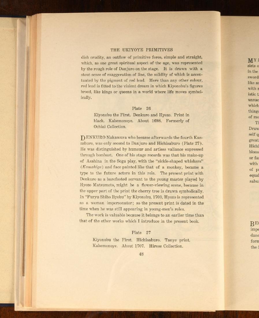 BOOKS: Noguchi 1933 The Ukiyoye Primitives Ltd Ed - 7