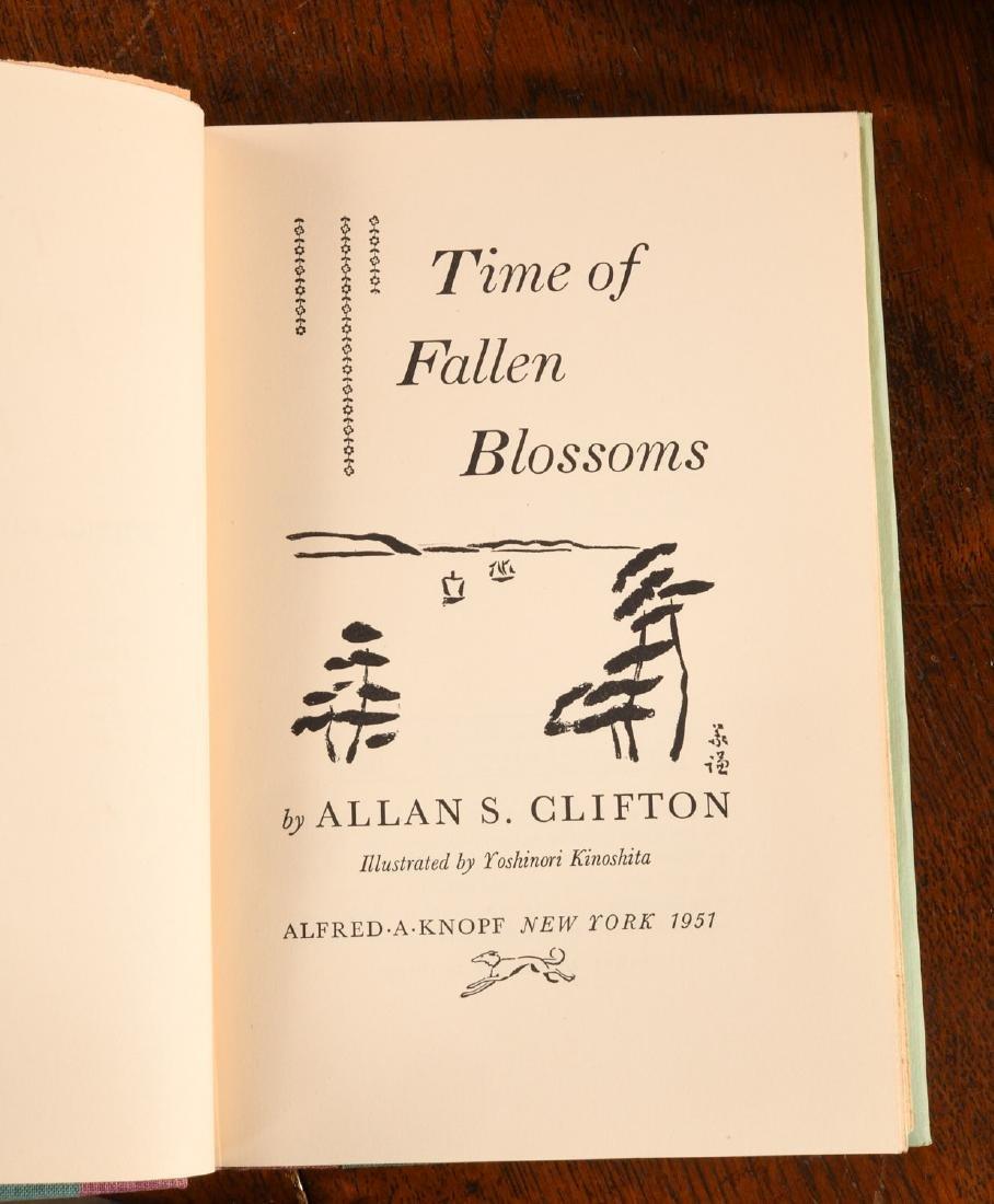 BOOKS: (14) Vols Japanese Lit Hardcovers w/Jackets - 6