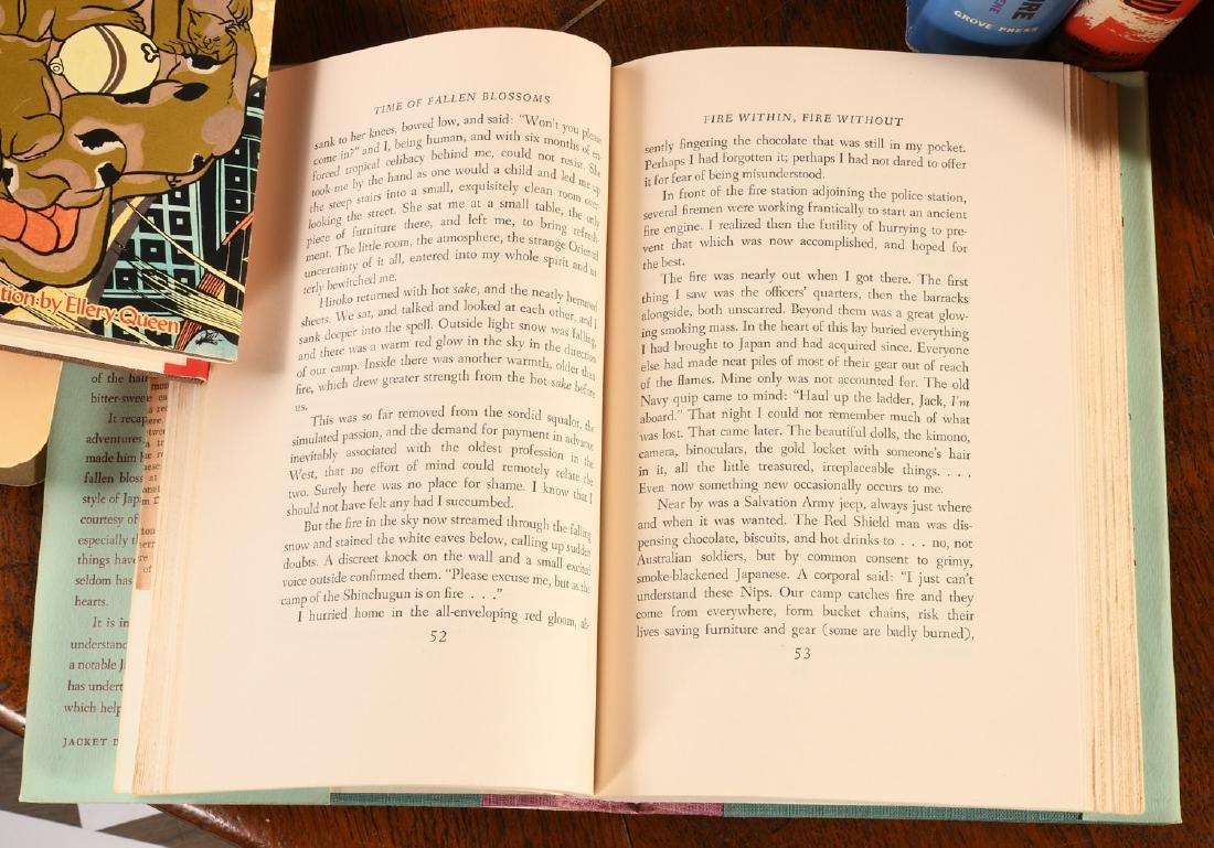 BOOKS: (14) Vols Japanese Lit Hardcovers w/Jackets - 7