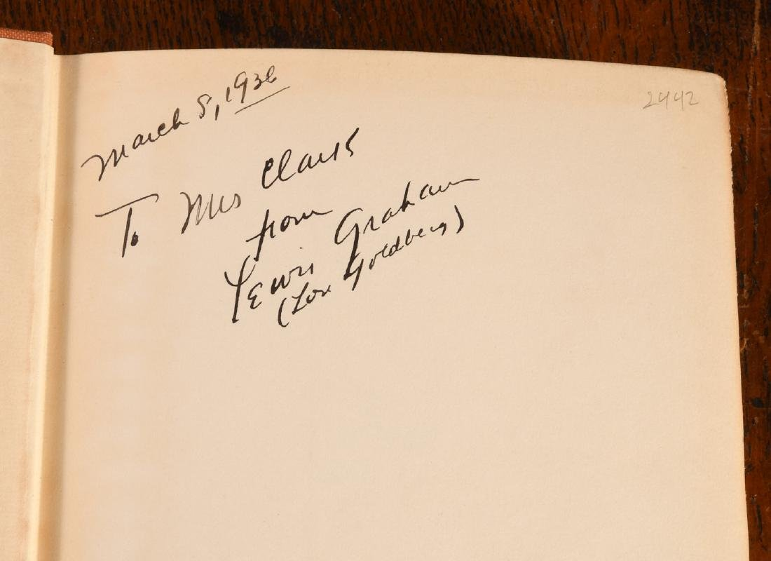 BOOKS: Signed 1934 Unsinkable Mrs. Jay Molly Brown - 3