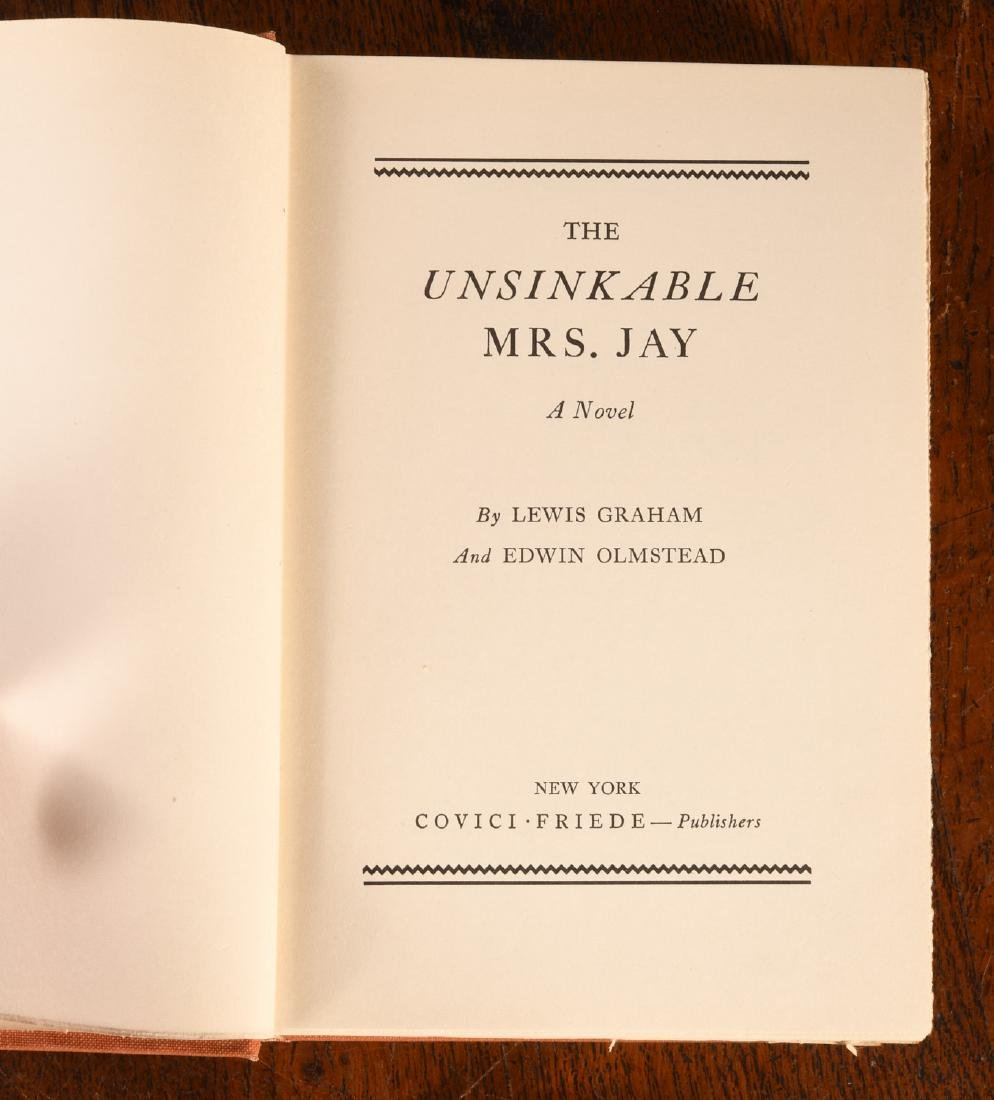 BOOKS: Signed 1934 Unsinkable Mrs. Jay Molly Brown - 4