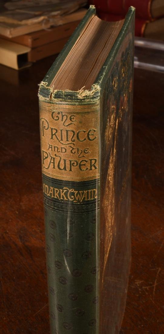 BOOKS: Twain 1882 Prince and the Pauper 1st Ed - 2