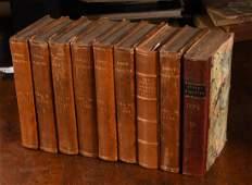 BOOKS: (9) Vols Annual Register 1775-1782 London