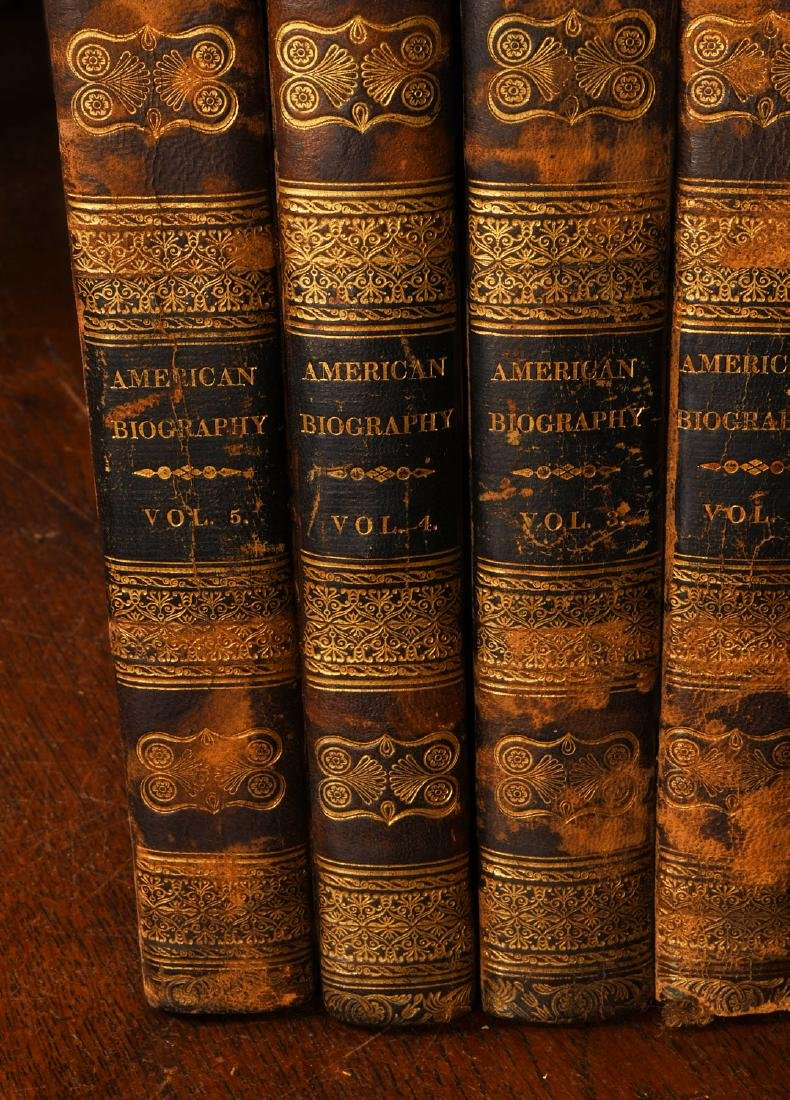 BOOKS: (9) Vols 1820 Signers of the Declaration - 2